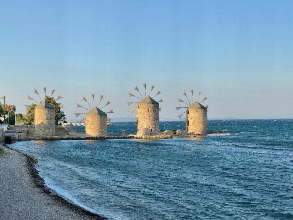 Chios, młyny, mastika dom